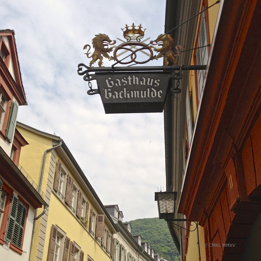 Gasthaus Backmulde (elegant restaurant & small hotel named after the trough in which to let the dough rise) The building goes back to a 17th c. sailors' inn. It's also headquarters for the master baker's guild