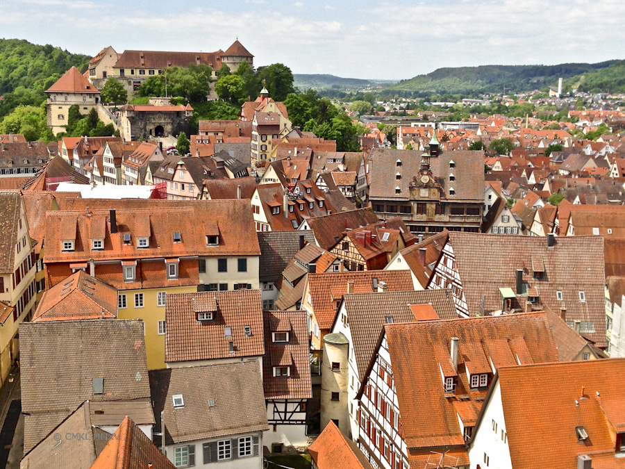 Schloss Hohentübingen and the Rathaus in all their glory
