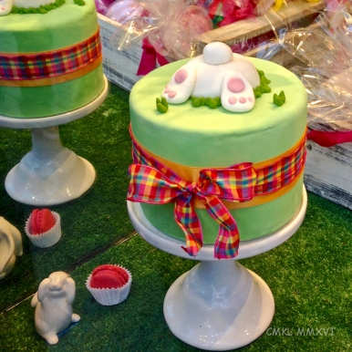The lovely baked goods are of recent vintage!