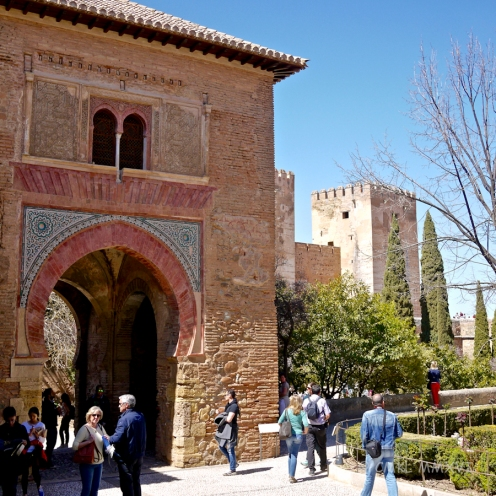 Alhambra Visit - Fortification