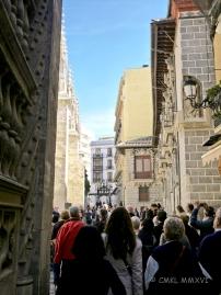 Granada - Karfreitag Spaziergang