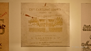 The wine merchant on this label is the LaLande Co. ...