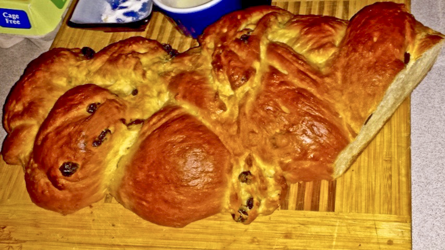 Hefezopf or challah, he was a gifted baker! [photo credit DKK]