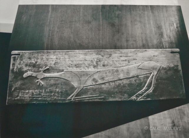 """Joseph Beuys """"Elch"""" 1949-50"""