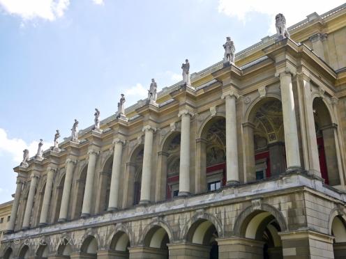 Detail of a façade