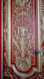 Detail of door panel