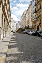 a quiet side street,