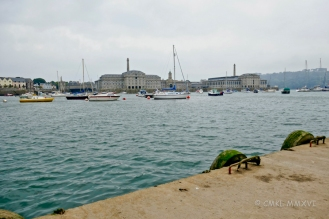 View toward the Royal William Yard.