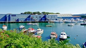 Boatyard facility