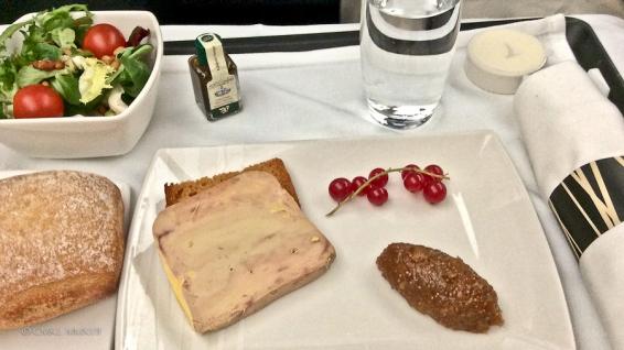Fig infused foie gras