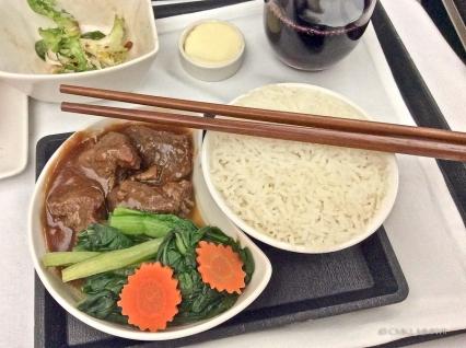 Five spice beef & choy sum with jasmine rice