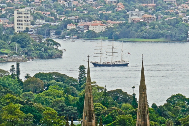 Home.Exchange.Sydney.TallShip