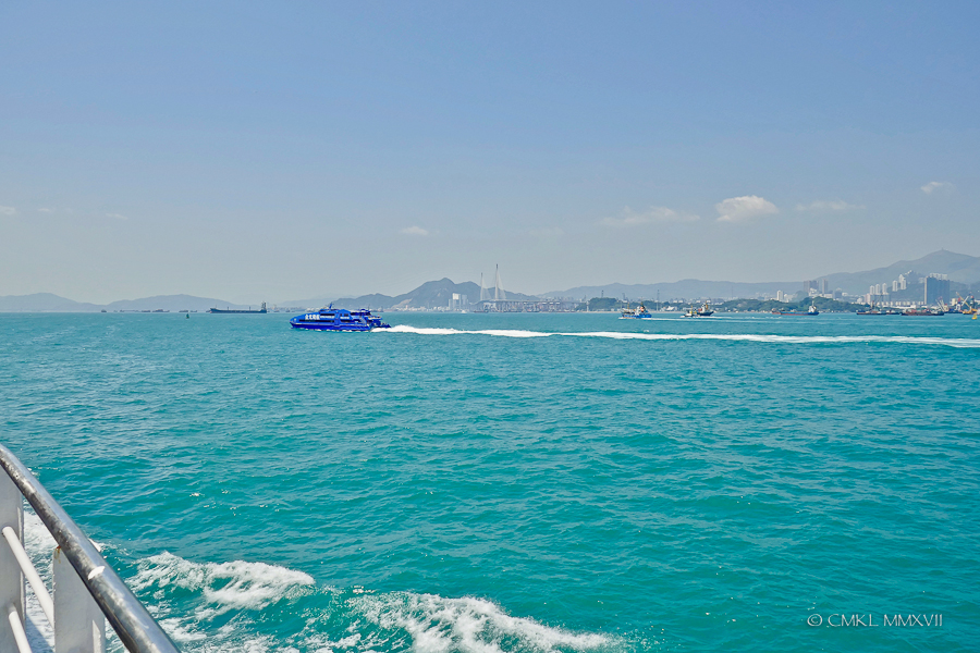 Leaving Victoria Harbor