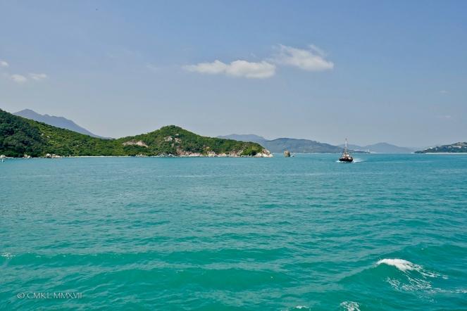 The beautiful South China Sea ...