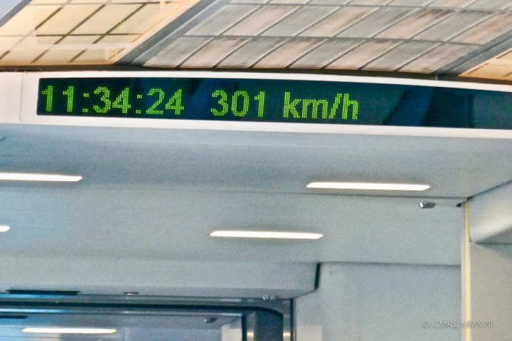 As advertised, the return trip was considerably slower.