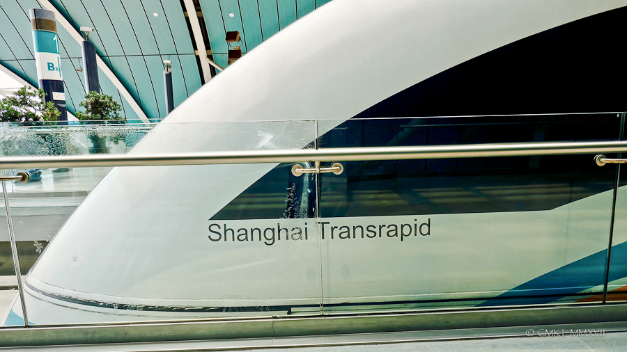 The slick Maglev conductors compartment