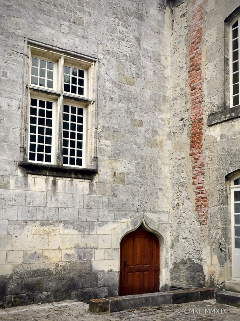 King François I was born behind this window in 1496