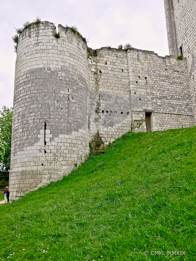 This massive tower is the smallest and shortest part of the ancient fortification