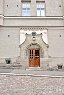The 1907 Jugendstil Neodomus building