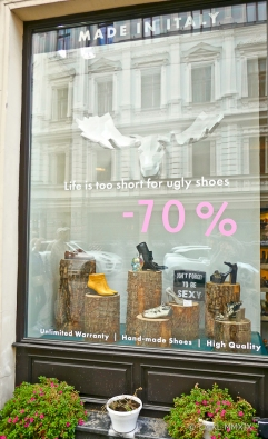 Even at 70% off, sexy shoes were too costly.